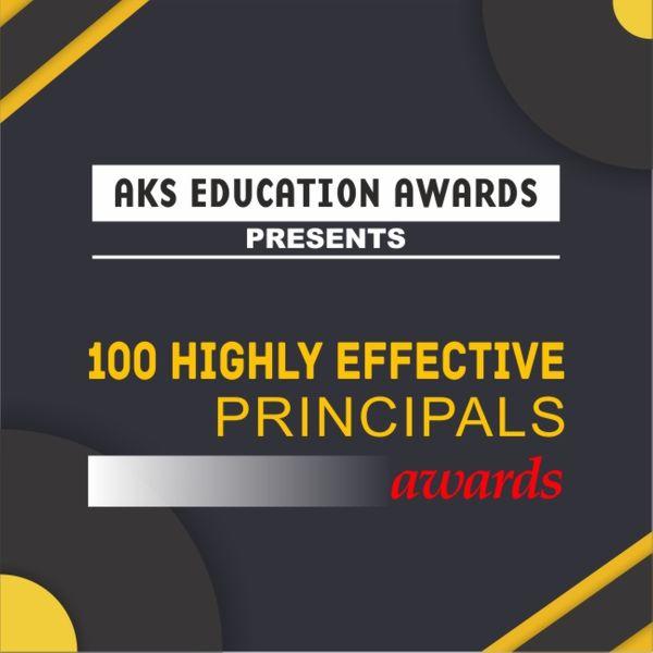 100 Highly Effective Principals Awards